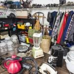 Garage Sale Thrift Store Clutter
